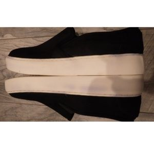 Steve Madden Shoes - Steve Madden Suede Like Slip On Black shoes 9